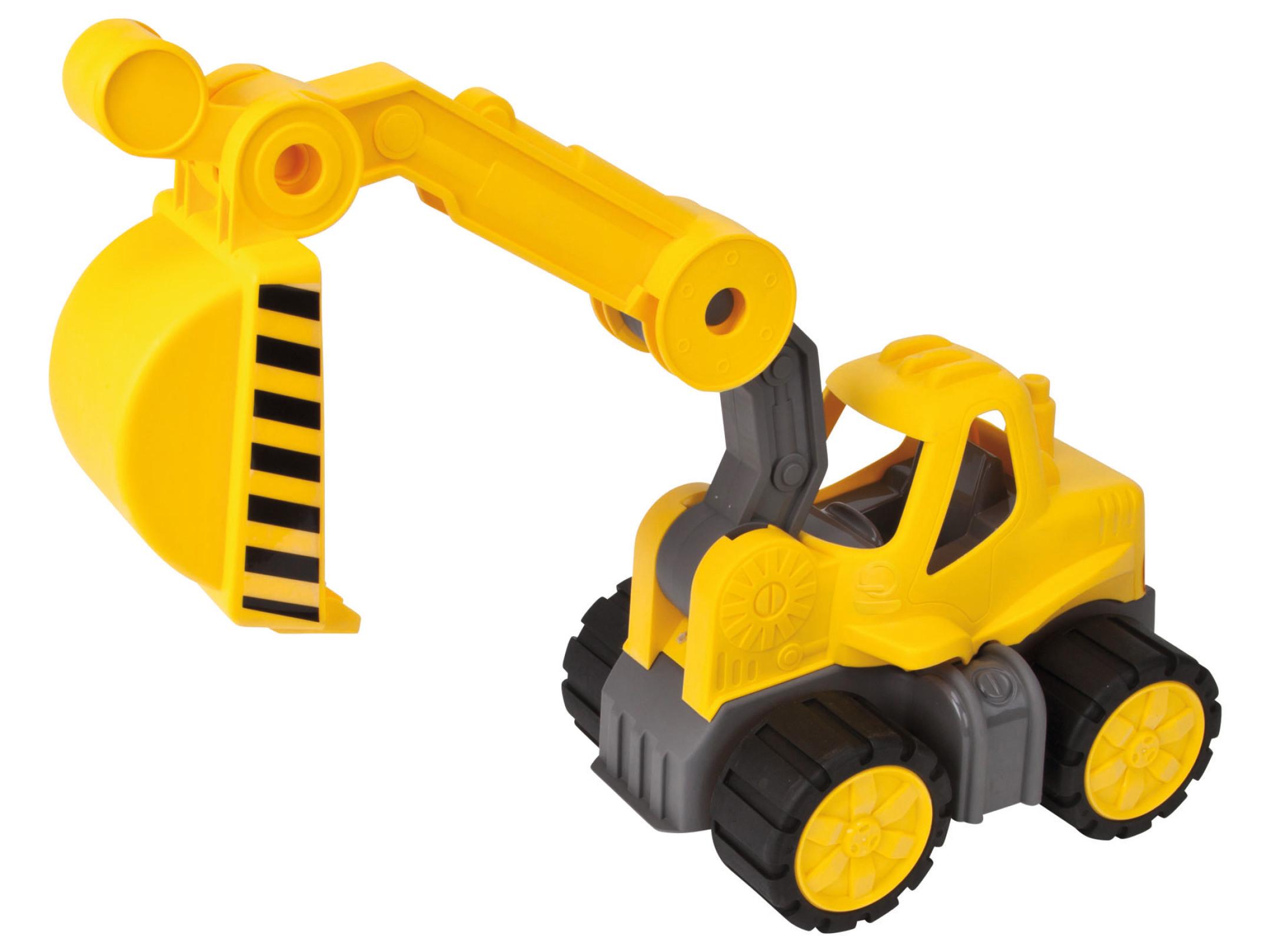 big power worker bagger gelb kinder spielzeug 56835 neu | ebay