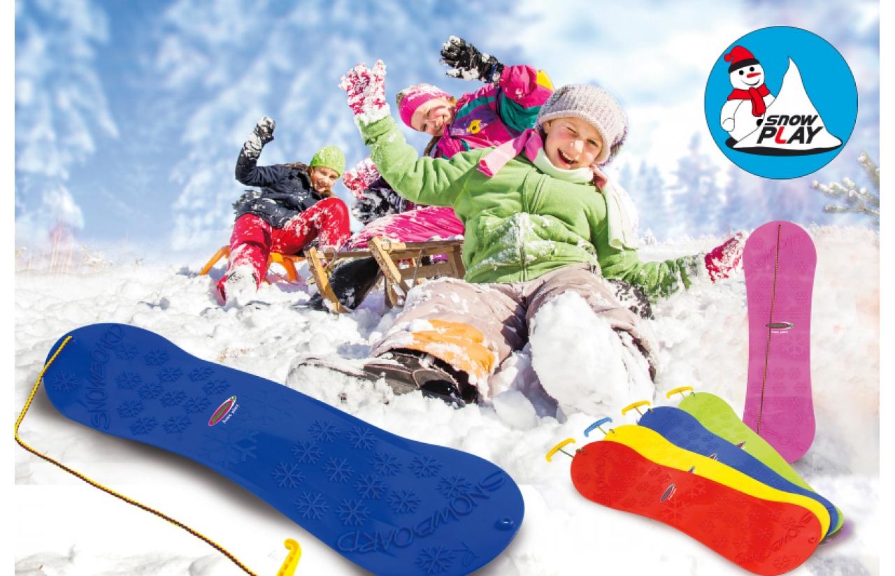 Snow Play Snowboard Kinder 72 cm verschiedene Farben